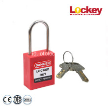 4mm Shackle Stainless Steel Safety Gembok